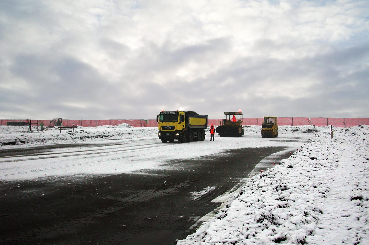 Lavorazione con neve